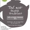 Thé noir English Breakfast bio Terre Soleil vrac 50g