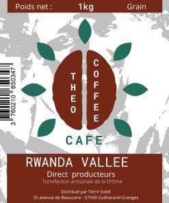 Etiquette Theo Coffee grain 1 kg